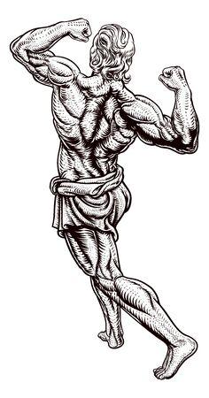 Ancient Greek or Roman Strong Man