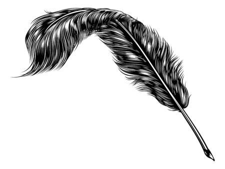 Stylo à encre plume d'écriture
