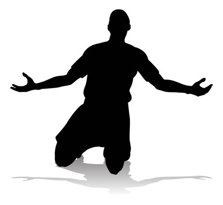 Soccer Football Player Silhouette Vector Illustration