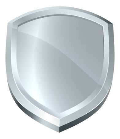 Shield Icon Secure Protect Security Defence Icon Ilustrace