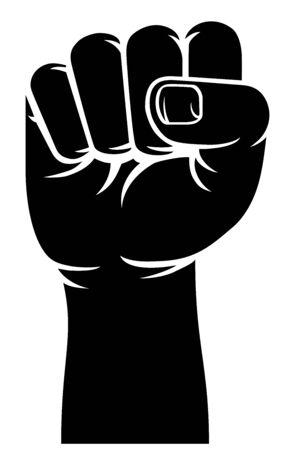 Fist Propaganda Protest Revolution Hand Sign