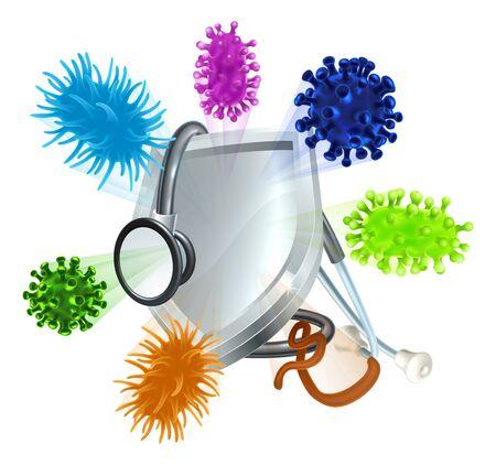 Preventative Medicine Stethoscope Medical Concept