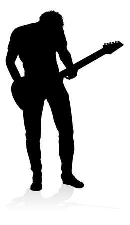 Guitarist Musician Silhouette