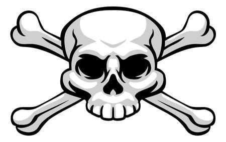 Skull And Crossbones Pirate Jolly Roger