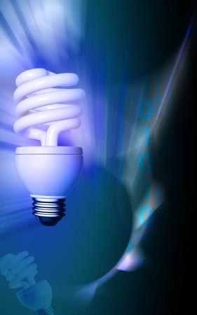 enchufe de luz: L�mpara CFL