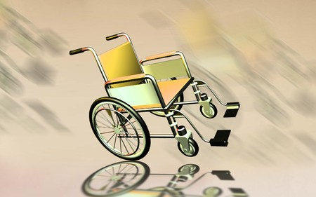hinder: Wheel chair