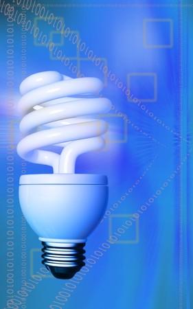CFL lamp Stock Photo - 4586035