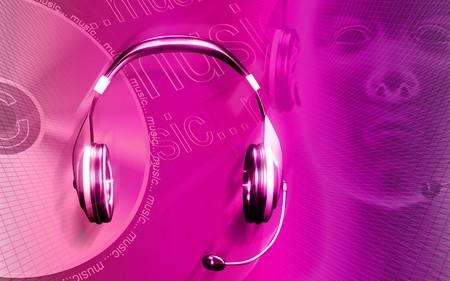sonic: Headphone  Stock Photo