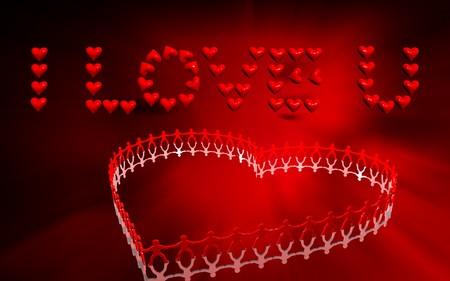 Valentine greeting   photo