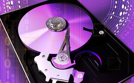 portable rom: Compact disc reader   Stock Photo