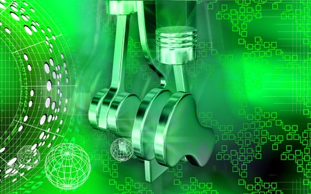 pistons: Pistons working in engines   Stock Photo