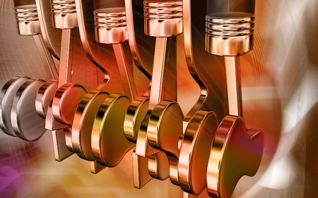 Five stroke engine  Stock Photo - 4633924