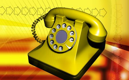 shiver: Telephone   Stock Photo