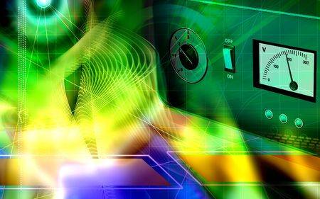 stabilizer: Electronic stabilizer   Stock Photo