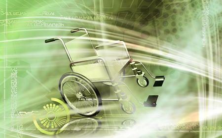 wheel chair: Wheel chair  Stock Photo