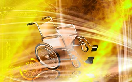 Wheel chair  Stock Photo - 4626528