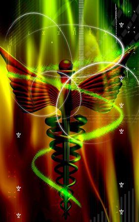 medicine logo: M�dico logotipo