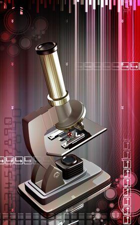 haemoglobin: Blood cells through microscope   Stock Photo