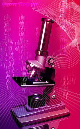 haemoglobin: Microscope  Stock Photo