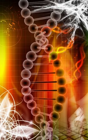 nucleic: DNA