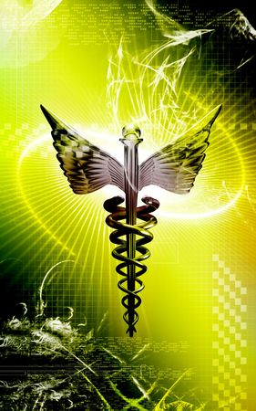 logo medicina: M�dico logotipo