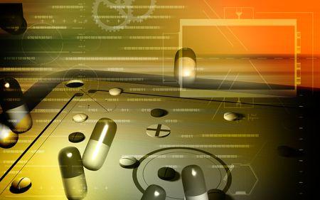 medicaments: Capsules    Stock Photo
