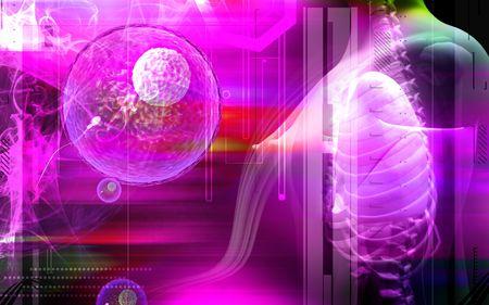 schyzomycete: Influenza virus