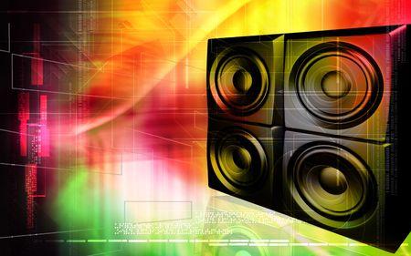loud speaker: Loud speaker    Stock Photo