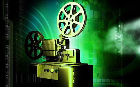 Vintage projector  photo