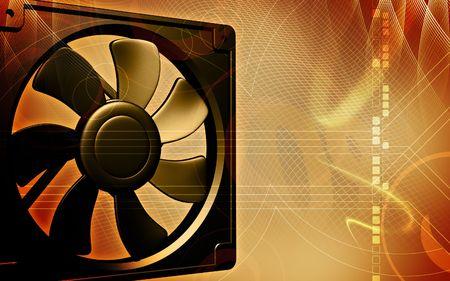 coolant temperature: computer cooling fan