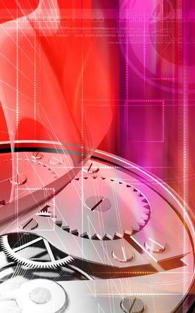 Watch gears   photo