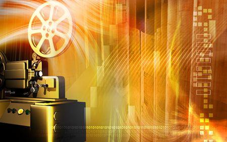 film history: Vintage projector