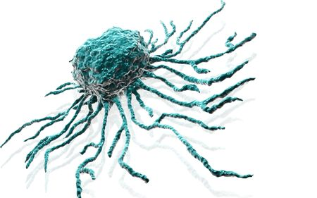 Digital illustration  of stem cell in   isolated background    Banco de Imagens