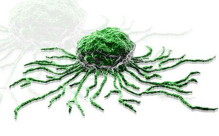 Digital illustration  of stem cell in   isolated background    illustration
