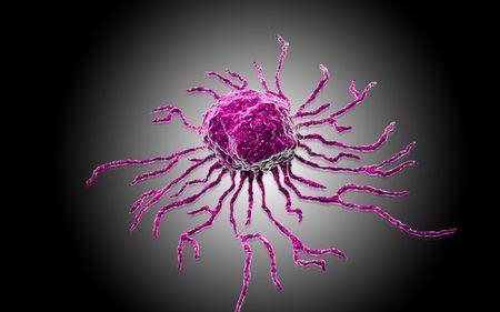 Digital illustration  of stem cell in   colour background Stock Illustration - 5927729