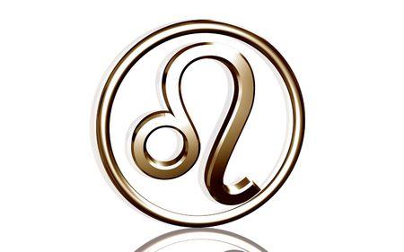 Digital illustration of Zodiac symbol in isolated background  illustration