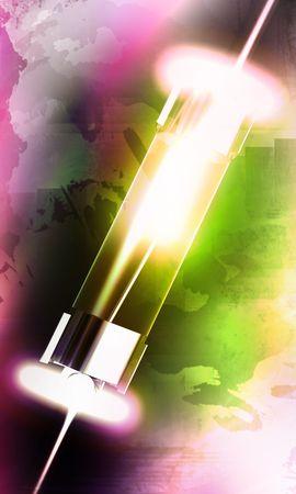 Digital illustrationof fuse in colour background  illustration