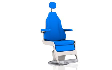 Digital illustration of a dentist's chair in isolated background Stock Illustration - 6818934