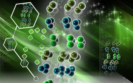 Digital illustration DNA structure  in colour background  Digital illustration DNA structure  in colour background      illustration