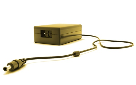 Digital illustration of adapter in isolated  background  illustration