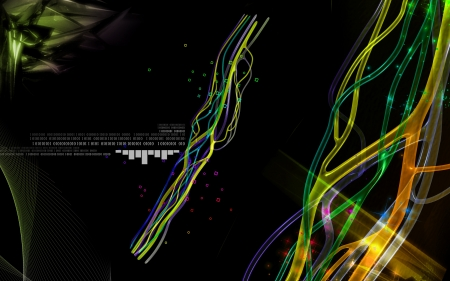hormon: Digital illustration of  nerves  in  colour background