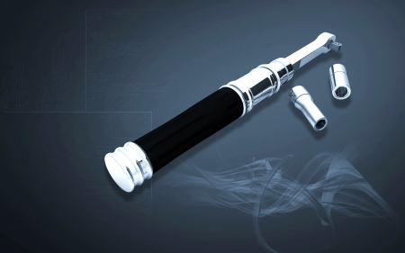 ratchet: Digital illustration of ratchet tool in colour background Stock Photo
