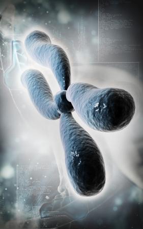 dna background: Digital illustration  of chromosome in   colour background    Stock Photo