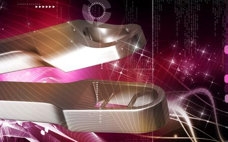 tip up: Digital illustration of Schubert Tip up colour background