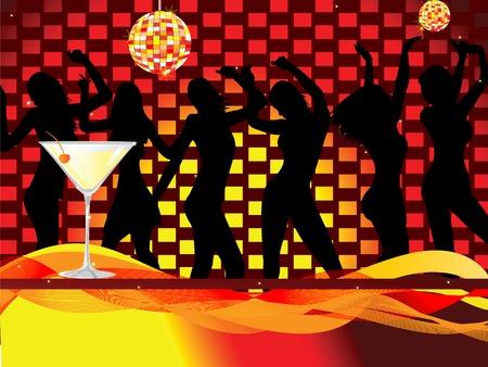 Ladies Night Out-Disco-Szene
