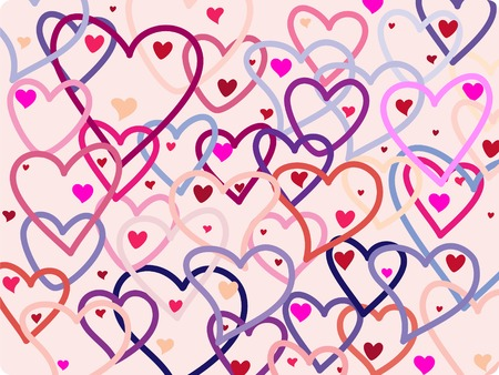 chic-love background Vector