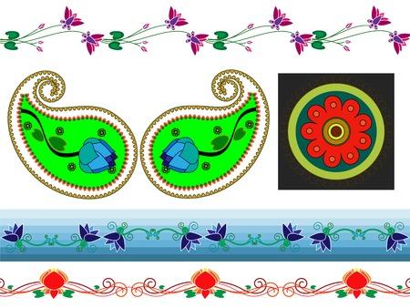 motive: Henna Boder Designs und paisely Design