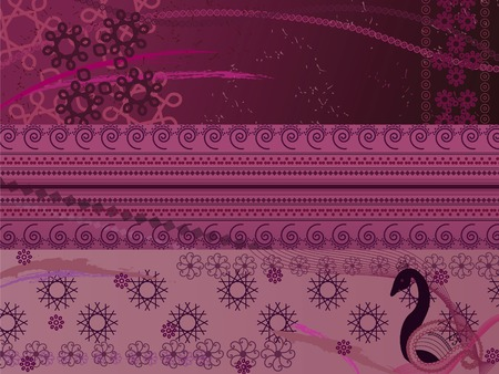 abstract henna background Stock Vector - 4819948