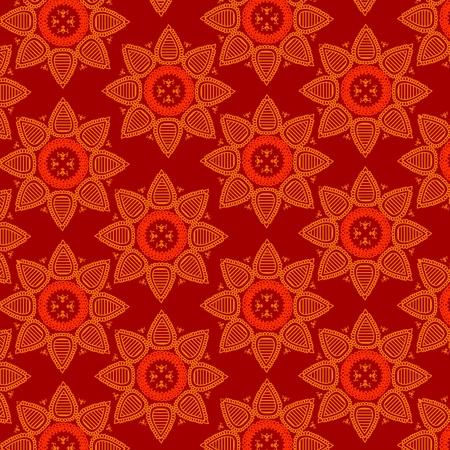 motive: Henna Mandala design Illustration