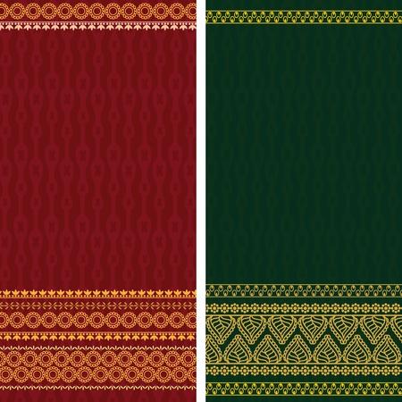 sari: Dise�o de sari, muy elaborada y f�cilmente modificable